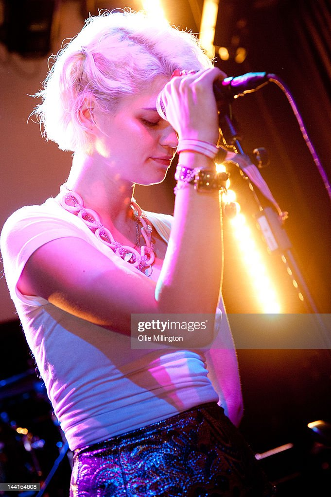 <a gi-track='captionPersonalityLinkClicked' href=/galleries/search?phrase=Pixie+Geldof&family=editorial&specificpeople=208703 ng-click='$event.stopPropagation()'>Pixie Geldof</a> performs with her band Violet on stage at Haunts presented by Luv Luv Luv records during The Great Escape Festival on May 10, 2012 in Brighton, United Kingdom.