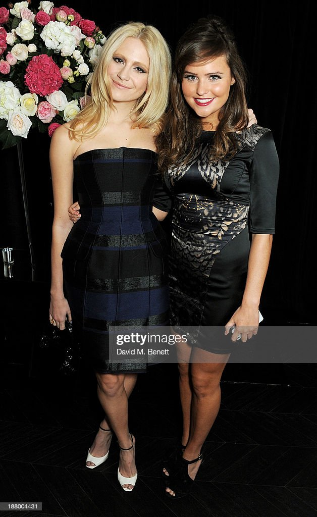<a gi-track='captionPersonalityLinkClicked' href=/galleries/search?phrase=Pixie+Lott&family=editorial&specificpeople=5591168 ng-click='$event.stopPropagation()'>Pixie Lott</a> (L) and Georgie Wakeling attend the opening of the Dior Beauty Boutique in Covent Garden on November 14, 2013 in London, England.