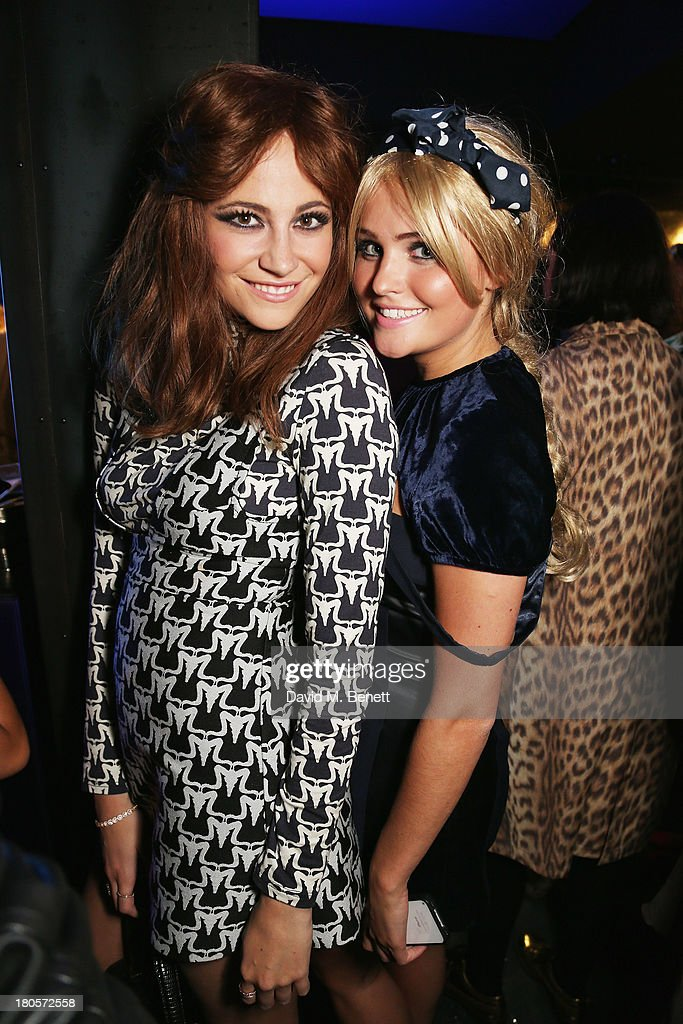 <a gi-track='captionPersonalityLinkClicked' href=/galleries/search?phrase=Pixie+Lott&family=editorial&specificpeople=5591168 ng-click='$event.stopPropagation()'>Pixie Lott</a> and guest attend the party hosted by Browns Focus & Designer Brian Lichtenberg to officially launch the NEW Browns Focus at 24 South Molton Street on September 14, 2013 in London, United Kingdom.