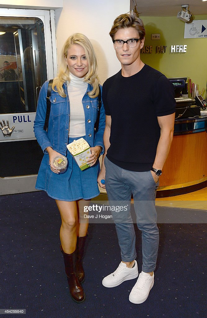 <a gi-track='captionPersonalityLinkClicked' href=/galleries/search?phrase=Pixie+Lott&family=editorial&specificpeople=5591168 ng-click='$event.stopPropagation()'>Pixie Lott</a> and <a gi-track='captionPersonalityLinkClicked' href=/galleries/search?phrase=Oliver+Cheshire&family=editorial&specificpeople=7407100 ng-click='$event.stopPropagation()'>Oliver Cheshire</a> attend the UK Premiere of 'The Guvnors' at Odeon Covent Garden on August 27, 2014 in London, England.