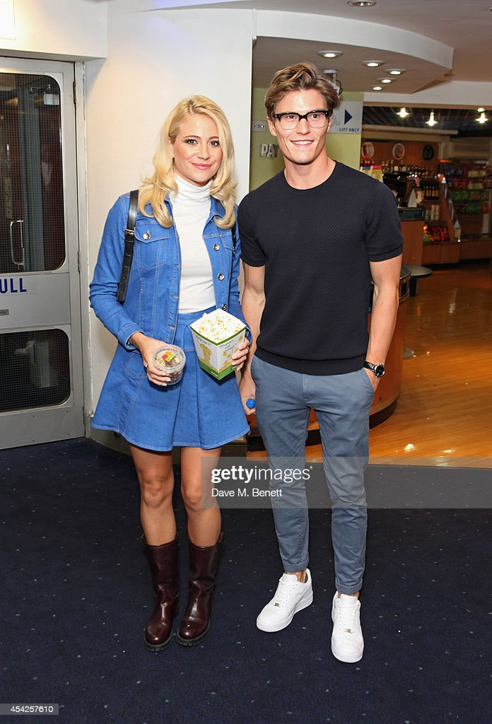 <a gi-track='captionPersonalityLinkClicked' href=/galleries/search?phrase=Pixie+Lott&family=editorial&specificpeople=5591168 ng-click='$event.stopPropagation()'>Pixie Lott</a> (L) and <a gi-track='captionPersonalityLinkClicked' href=/galleries/search?phrase=Oliver+Cheshire&family=editorial&specificpeople=7407100 ng-click='$event.stopPropagation()'>Oliver Cheshire</a> attend the UK Premiere of 'The Guvnors' at Odeon Covent Garden on August 27, 2014 in London, England.