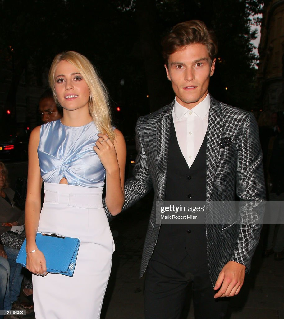 <a gi-track='captionPersonalityLinkClicked' href=/galleries/search?phrase=Pixie+Lott&family=editorial&specificpeople=5591168 ng-click='$event.stopPropagation()'>Pixie Lott</a> and <a gi-track='captionPersonalityLinkClicked' href=/galleries/search?phrase=Oliver+Cheshire&family=editorial&specificpeople=7407100 ng-click='$event.stopPropagation()'>Oliver Cheshire</a> attending the Scottish Fashion Awards on Northumberland Avenue on September 1, 2014 in London, England.