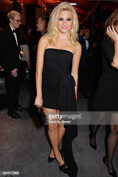 Pixie Lott attends an after party following the GQ Men Of The Year awards in association with Hugo Boss at The Royal Opera House on September 2 2014...