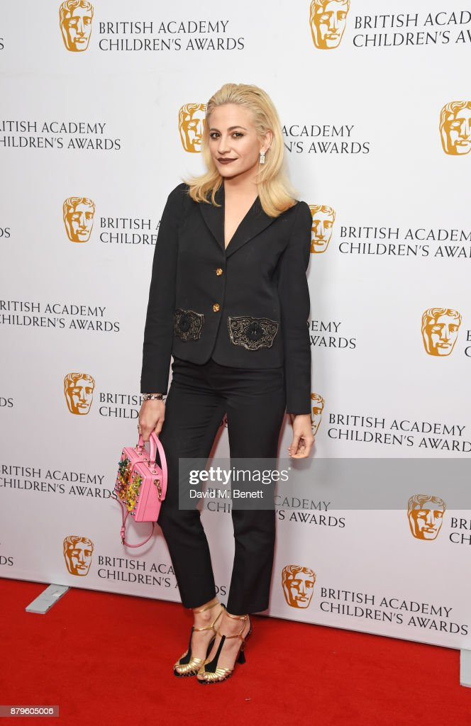 Pixie Lott attends the BAFTA Children's Awards at The Roundhouse on November 26, 2017 in London, England.