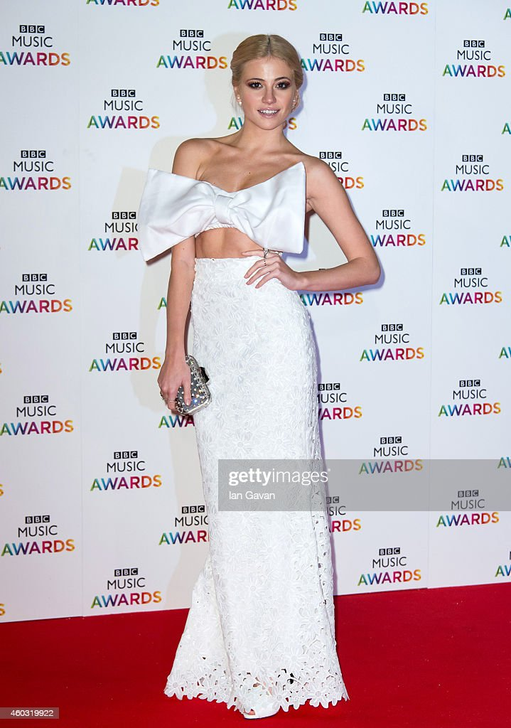 <a gi-track='captionPersonalityLinkClicked' href=/galleries/search?phrase=Pixie+Lott&family=editorial&specificpeople=5591168 ng-click='$event.stopPropagation()'>Pixie Lott</a> attends the BBC Music Awards at Earl's Court Exhibition Centre on DECEMBER 11:, 2014 in London, England.