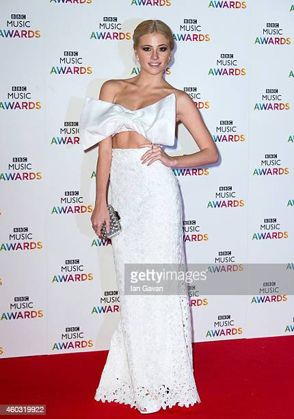 Pixie Lott attends the BBC Music Awards at Earl's Court Exhibition Centre on DECEMBER 11 2014 in London England