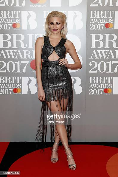 Pixie Lott attends The BRIT Awards 2017 at The O2 Arena on February 22 2017 in London England