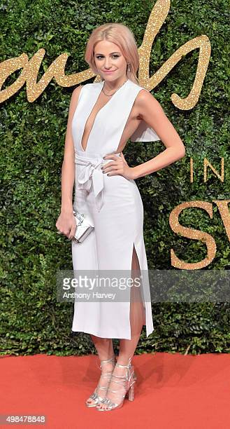 Pixie Lott attends the British Fashion Awards 2015 at London Coliseum on November 23 2015 in London England