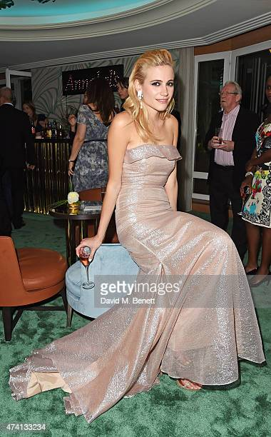 Pixie Lott attends the Chopard Annabel's in Cannes party at the Martinez Hotel on May 20 2015 in Cannes France