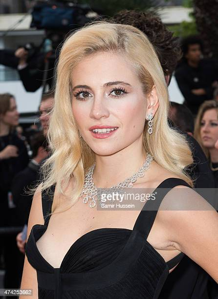 Pixie Lott attends the 'Dheepan' Premiere during the 68th annual Cannes Film Festival on May 21 2015 in Cannes France