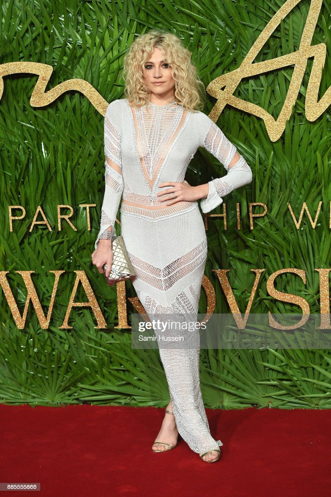 Pixie Lott attends The Fashion Awards 2017 in partnership with Swarovski at Royal Albert Hall on December 4, 2017 in London, England.