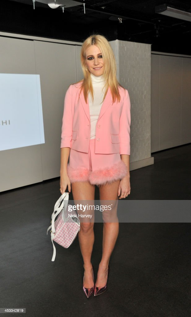 Pixie Lott attends the Fashion Fringe 10 Year Anniversary Party at the London Film Museum on December 3, 2013 in London, England.