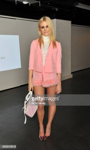 Pixie Lott attends the Fashion Fringe 10 Year Anniversary Party at the London Film Museum on December 3 2013 in London England