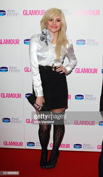 Pixie Lott attends the Glamour Women of The Year Awards at Berkeley Square Gardens on June 8 2010 in London England