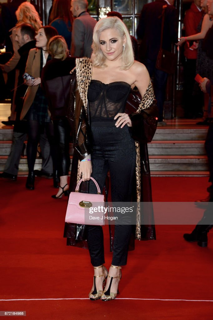 Pixie Lott attends the ITV Gala held at the London Palladium on November 9, 2017 in London, England.