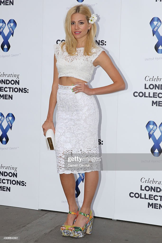 <a gi-track='captionPersonalityLinkClicked' href=/galleries/search?phrase=Pixie+Lott&family=editorial&specificpeople=5591168 ng-click='$event.stopPropagation()'>Pixie Lott</a> attends the One For The Boys Charity Ball during the London Collections: Men SS15 on June 15, 2014 in London, England.
