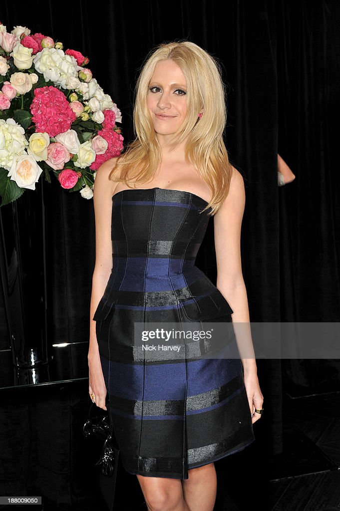 Pixie Lott attends the opening of Dior Beauty Boutique on November 14, 2013 in Covent Garden, London, England.