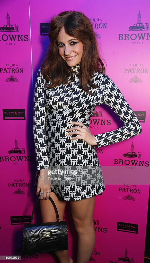<a gi-track='captionPersonalityLinkClicked' href=/galleries/search?phrase=Pixie+Lott&family=editorial&specificpeople=5591168 ng-click='$event.stopPropagation()'>Pixie Lott</a> attends the party hosted by Browns Focus & Designer Brian Lichtenberg to officially launch the NEW Browns Focus at 24 South Molton Street on September 14, 2013 in London, United Kingdom.