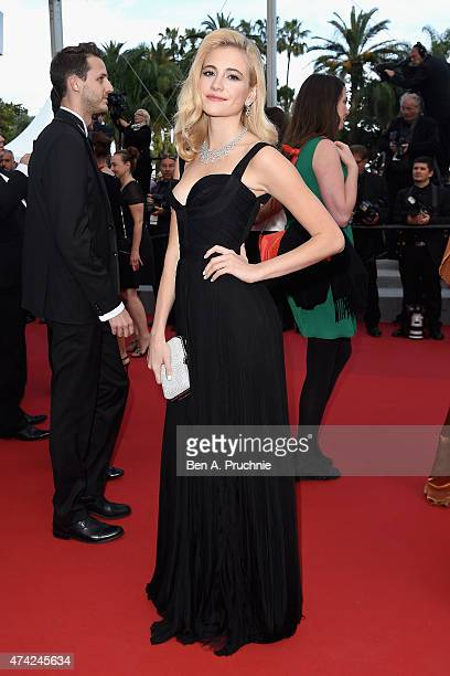 Pixie Lott attends the Premiere of 'Dheepan' during the 68th annual Cannes Film Festival on May 21 2015 in Cannes France