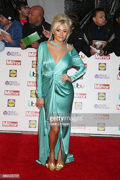 Pixie Lott attends the Pride of Britain awards at The Grosvenor House Hotel on September 28 2015 in London England