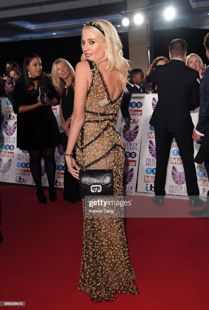 Pixie Lott attends the Pride Of Britain Awards at the Grosvenor House on October 30, 2017 in London, England.