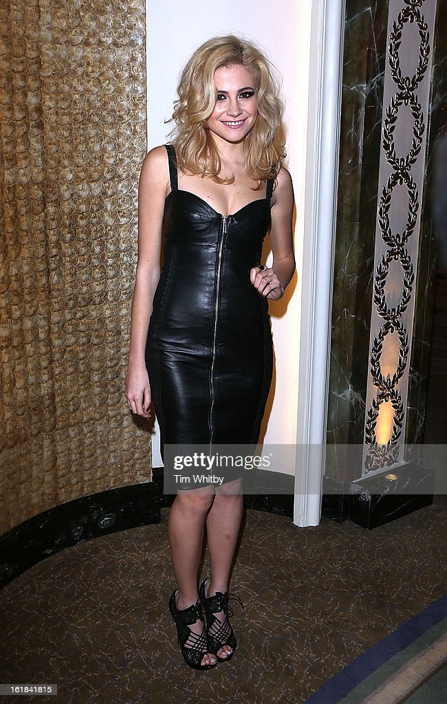 Pixie Lott attends the Temperley London show during London Fashion Week Fall/Winter 2013/14 at The Dorchester Hotel on February 17, 2013 in London, England.