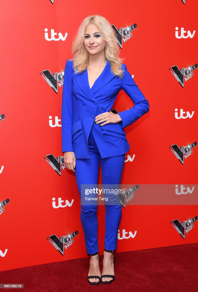 Pixie Lott attends the Voice Kids photocall at Madame Tussauds on June 6, 2017 in London, England.