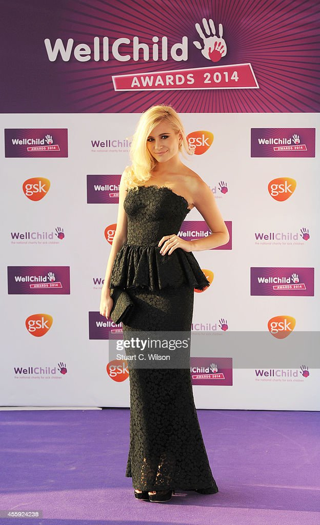 Pixie Lott attends the WellChild awards at the London Hilton on September 22, 2014 in London, England.