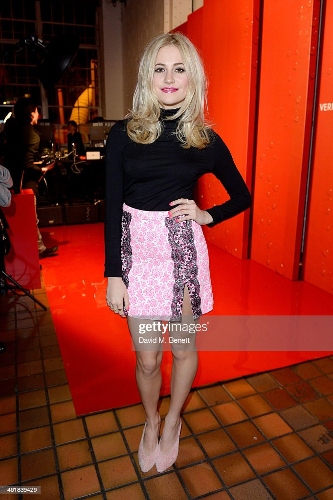 <a gi-track='captionPersonalityLinkClicked' href=/galleries/search?phrase=Pixie+Lott&family=editorial&specificpeople=5591168 ng-click='$event.stopPropagation()'>Pixie Lott</a> attends the YSL Beaute Makeup Celebration 'YSL Loves Your Lips' in the presence of Cara Delevingne at The Boiler House, The Old Truman Brewery, on January 20, 2015 in London, England.