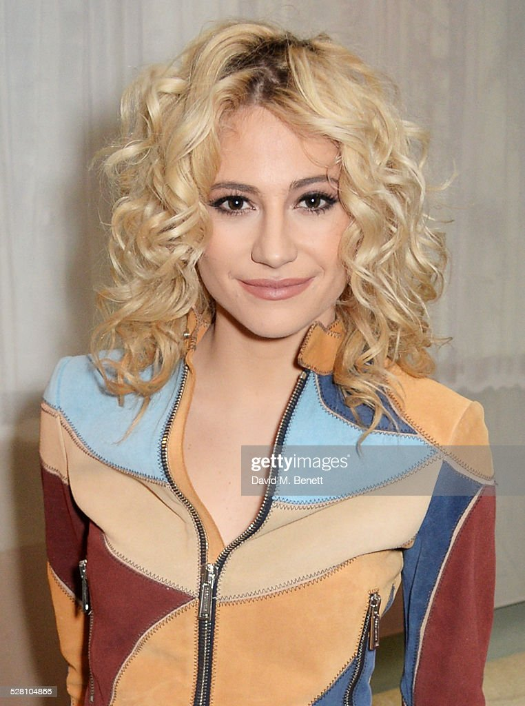 Pixie Lott poses at the press launch for the West End production of 'Breakfast At Tiffany's' at The Haymarket Hotel on May 4, 2016 in London, England.