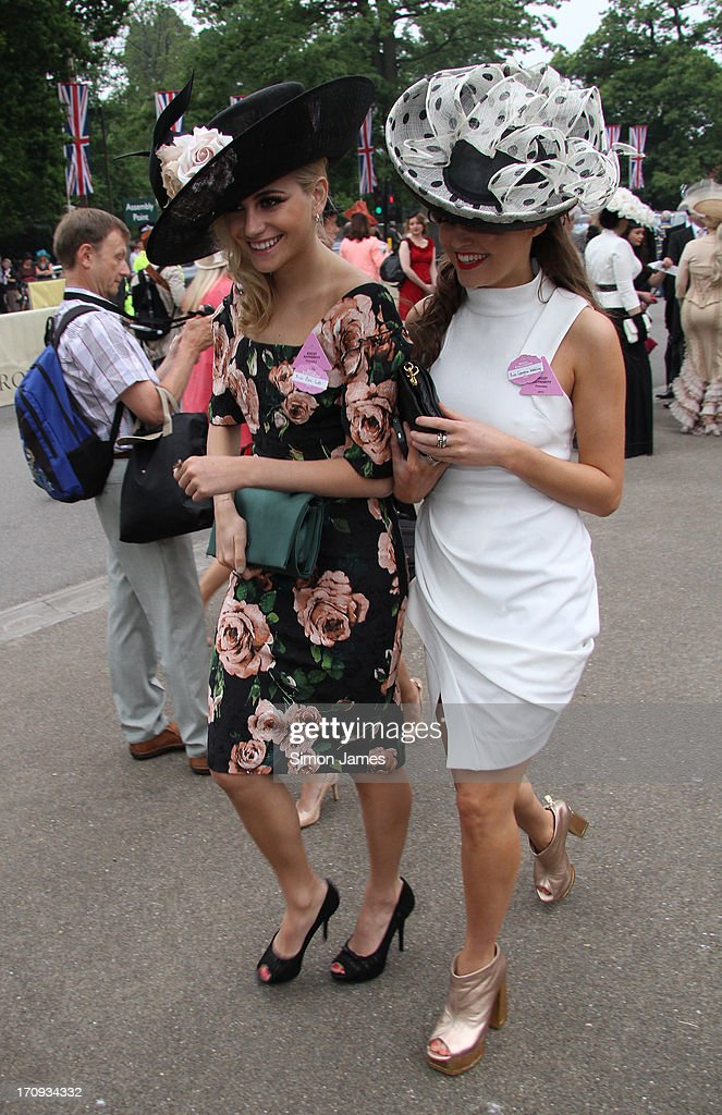 Pixie Lott sighting on June 20, 2013 in Ascot, England.