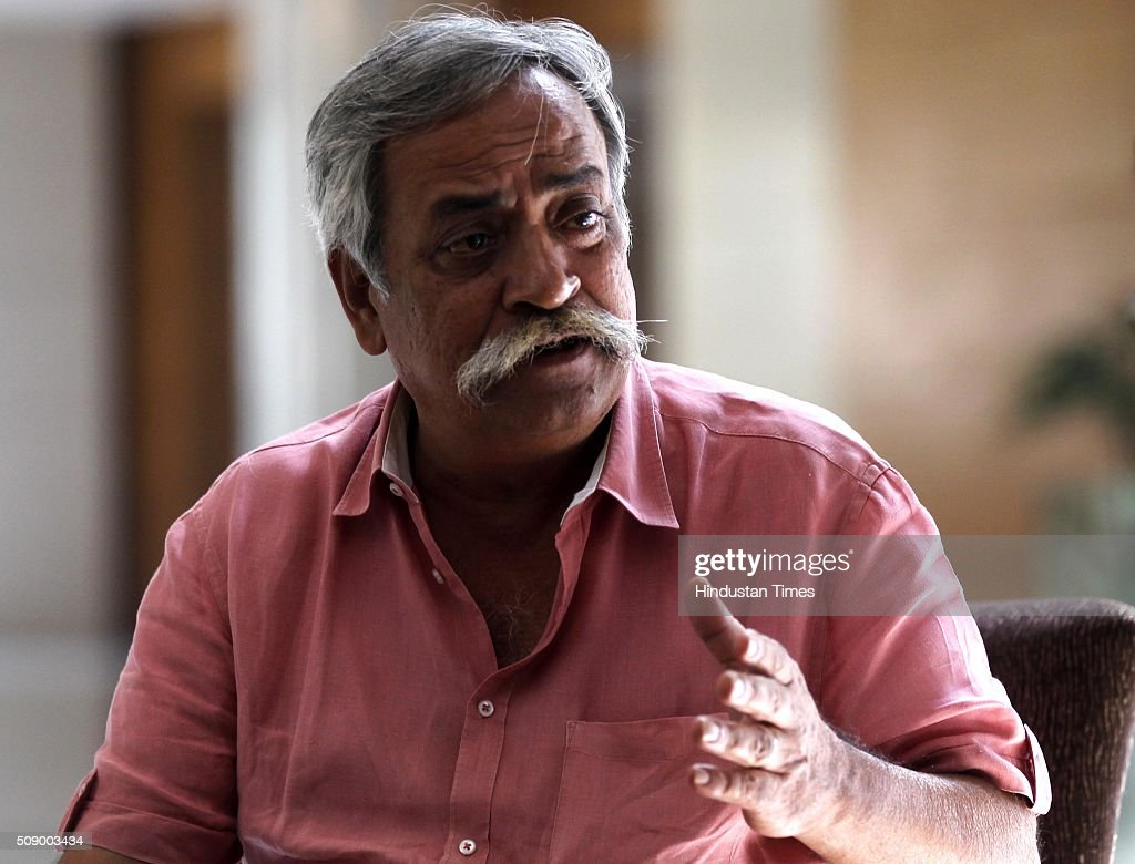 Piyush Pandey Executive Chairman & National Creative Director Ogilvy & Mather India during an interview on October 21, 2015 in New Delhi, India.