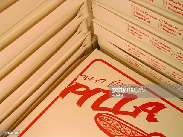 Pizza Box Stack