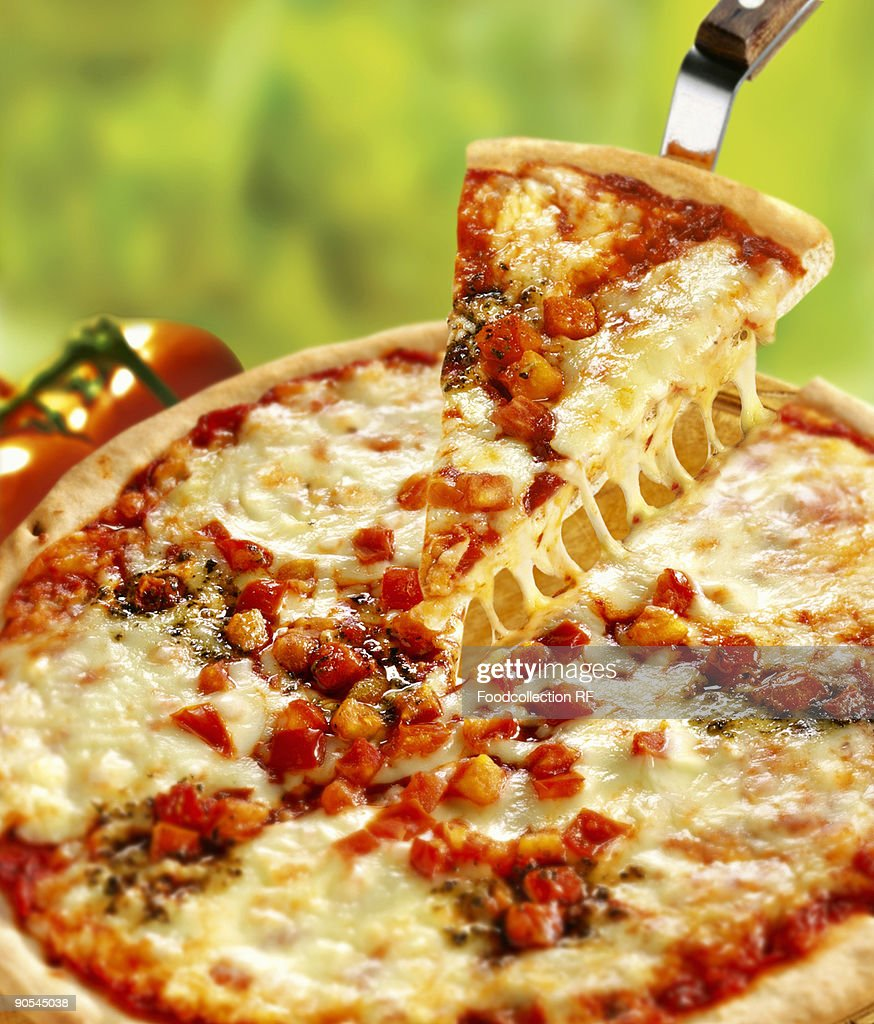Pizza, close up : Stock Photo