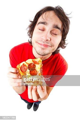 Pizza eater