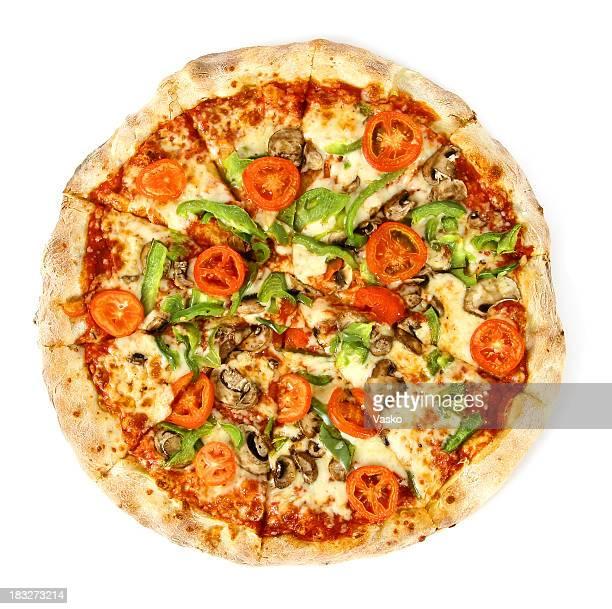 Pizza von den top-vegetarische