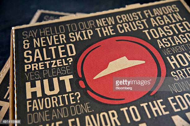 Pizza Hut pizza is arranged for a photograph in Tiskilwa Illinois US on Thursday Oct 1 2015 Yum Brands Inc owner of restaurant brands KFC Pizza Hut...