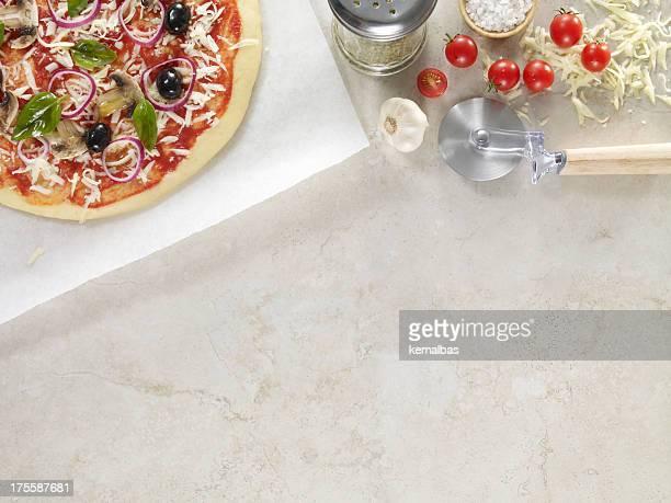 Pizza e ingredienti