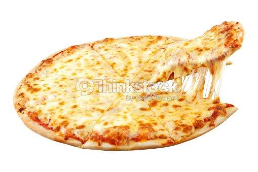 pizza margarita with mozzarella cheese basil and tomato template for