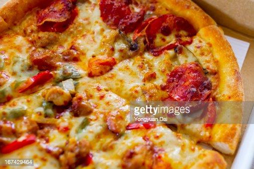 Pizza : Foto de stock