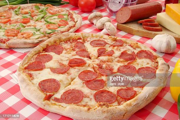Pizza préparation 16