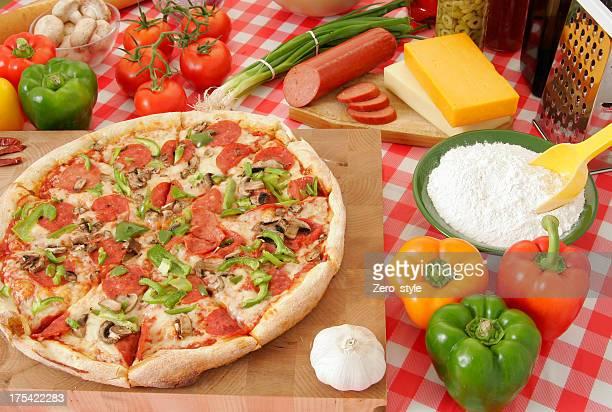 Pizza preparation 41
