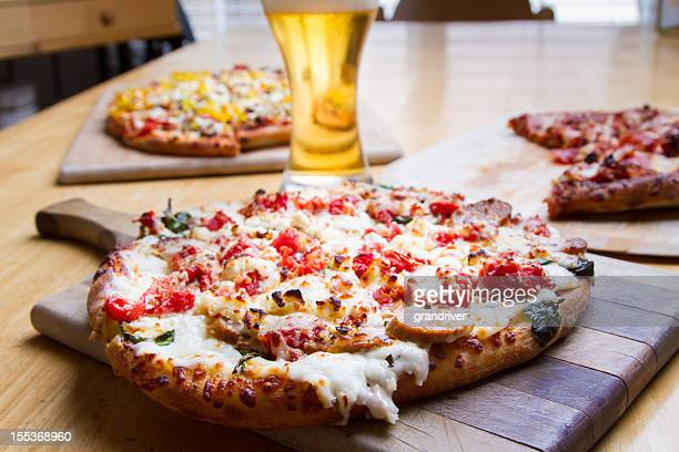 Pizzas and Beer