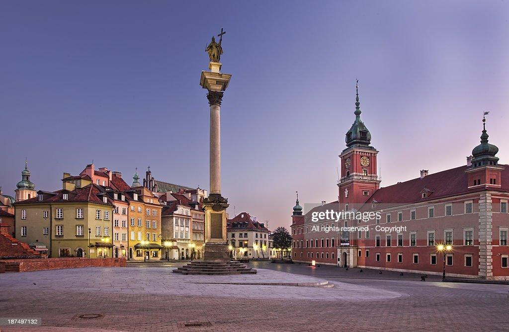 Plac Zamkowy (Warsaw. Poland)