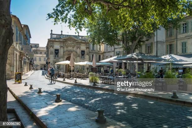 Place Crillon, Avignon, Provence-Alpes-Côte d'Azur, France.