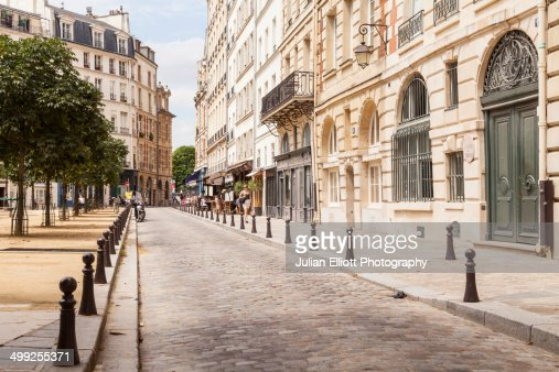 Place Dauphine on the Ile de la Cite, Paris.