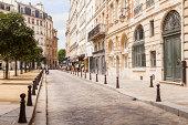 Place Dauphine on the Ile de la Cite, Paris.