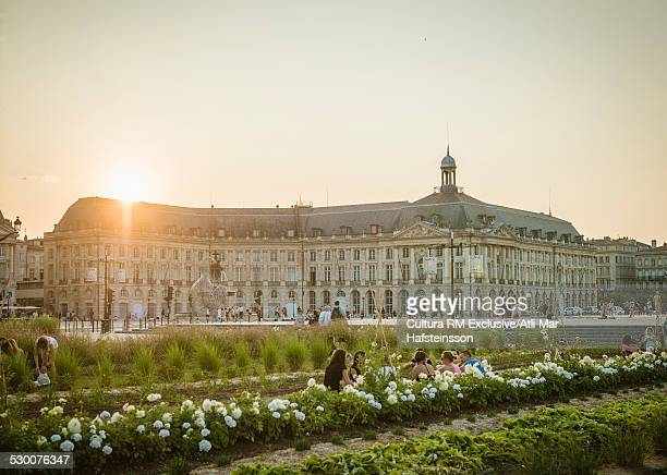 Place de la Bourse, Bordeaux, Aquitaine, France
