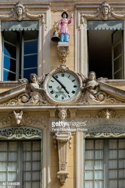 Place de l'Hotel de Ville, Nimes, Gard, France
