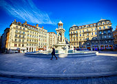 Place des Jacobins in Lyon, France